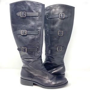 Vince Camuto Fivvy leather Knee High Boots